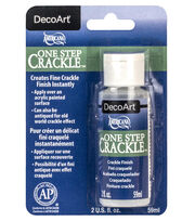 DecoArt One Step 2 fl. oz. Crackle Finish, , hi-res