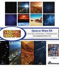 Reminisce Space Wars 12\u0027\u0027x12\u0027\u0027 Collection Kit