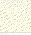 Easter Cotton Fabric-Tossed Mini Chicks