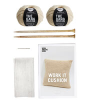 The Gang XL Cotton Collection-Work It Cushion Kit, , hi-res