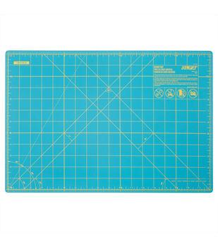 "Olfa Rotary Mat 12x18""-Aqua"