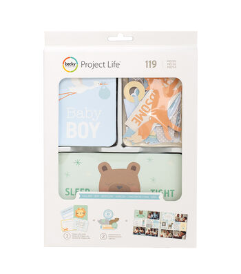 Project Life Becky Higgins 119 Pack Value Kit-Lullaby Boy