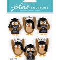 Jolee's Boutique Stickers-Repeat Graduation Owl