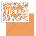 Park Lane A2 Cards & Envelopes-Melon Love