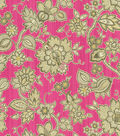 Waverly Lightweight Decor Fabric 54\u0022-Floral Flair/Passion