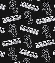 Chicago White Sox Cotton Fabric -Black, , hi-res