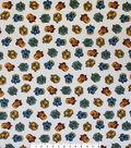Harry Potter Quilt Cotton Fabric 44\u0022-Hogwarts Houses