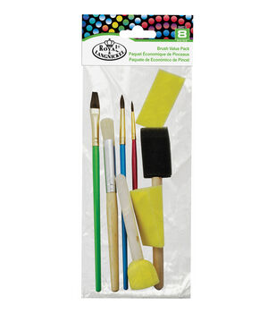 Crafter's Choice 6pc Craft & Glue Brushes