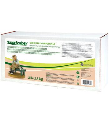 Super Sculpey 8 lbs Clay-Beige