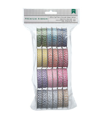 Baker`s Twine Value Pack 5yd Spools-Bright