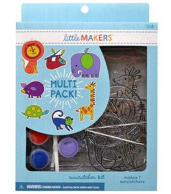 Little Makers Suncatcher Kit-Zoo