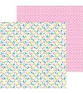 Doodlebug Hello 25 pk 12\u0027\u0027x12\u0027\u0027 Double-Sided Cardstock-Sitting Pretty