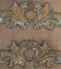 Prima Marketing 2 pk Metals for Wood Plaque 9 Embellishments