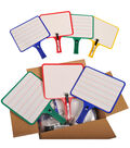 KleenSlate Concepts Double-sided Rectangular Dry Erase Paddles & Markers