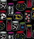 Holiday Inspirations Costume Fabric -Monster Jars