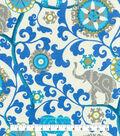 P/K Lifestyles Outdoor Fabric 54\u0022-Menagerie Sapphire
