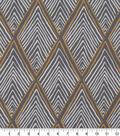 Robert Allen @ Home Print Swatch 55\u0022-Rhombi Forms Greystone