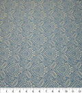 Quilter\u0027s Showcase Cotton Fabric-Damask Blue