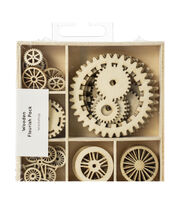 Kaisercraft Wood Mini Themed Embellishments-Workshop, 30/Pkg, , hi-res