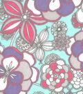 Snuggle Flannel Fabric -Gypsy Flowers