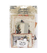 Idea-Ology Ephemera Pack 58/Pkg-Christmas, , hi-res