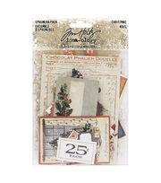 Idea-Ology Ephemera Pack 58/Pkg-Christmas, , hi-res