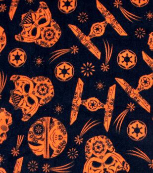 Halloween Star Wars Fleece Fabric 58''-Dark Side