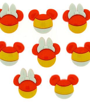 Jesse James Dress It Up Disney Mickey & Minnie Candy Corn Buttons