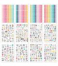 Simple Stories Carpe Diem 1138 pk A5 Planner Sticker Tablet-Calendar