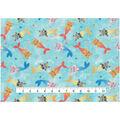 Novelty Cotton Fabric 43\u0027\u0027-Mermaid Kitties