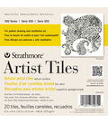 Strathmore Bristol Artist Tiles 6\u0022X6\u0022 20/Pkg-Vellum