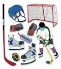 Jolee\u0027s Boutique Themed Ornate Stickers-Hockey