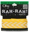Offray 7/8\u0027\u0027 X 9\u0027 Ribbon-Maize Chevron