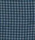 Quilter\u0027s Flannel Fabric 43\u0022-Box Plaid Navy