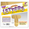 TREND 4\u0027\u0027 Casual Uppercase Ready Letters-Gold