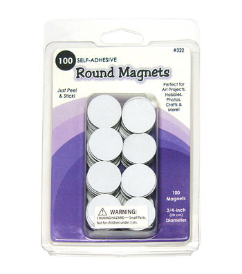 Quilled Creations Round Magnets 100/Pkg