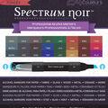 Spectrum Noir Double Tipped, Dark Colors, 24 pcs/pkg