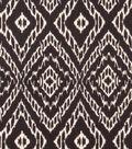 8\u0022x8\u0022 Swatch Upholstery Fabric  Robert Allen-Strie Ikat -Storm