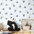York Wallcoverings Wallpaper-Blue Panda