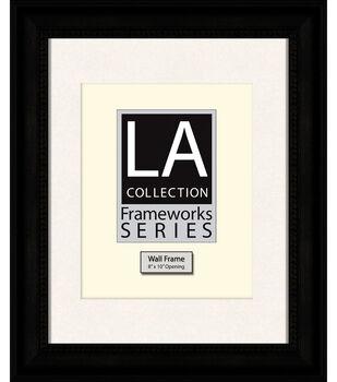 LA Collection Frameworks Series Wall Frame 11''x14''-Black