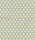 P/K Lifestyles Upholstery 8x8 Fabric Swatch-Point Taken/Seaglass