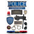 Police -3d Stickers