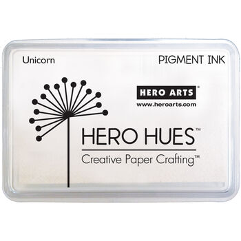Hero Hues Pigment Ink Pad-Unicorn