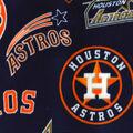 Houston Astros Fleece Fabric-Cooperstown