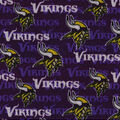 Minnesota Vikings Sweater Fleece Fabric