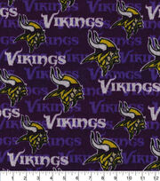 Minnesota Vikings Sweater Fleece Fabric, , hi-res