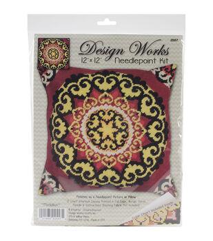 Design Works Crafts 12''x12'' Needlepoint Kit-Medallion
