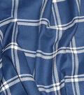 Waverly Upholstery Fabric 54\u0027\u0027-Marine Bloomsbury Plaid