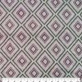 Luxe Fleece Fabric-Pink Large Diamond