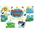 Teacher Created Resources Sports/Teamwork Bulletin Board Display Set